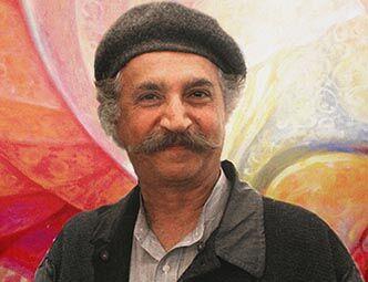 Freydon Rassouli, celosvětově uznávaný malíř alektor kreativních schopností člověka (Los Angeles, USA)